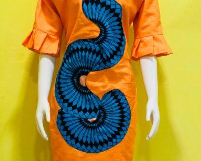 Pattern Up Dress